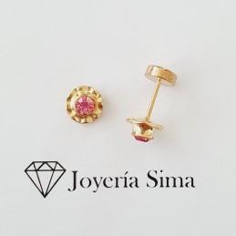 Aros Abridores piedra M rosada