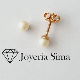Aros perla cultivada 1